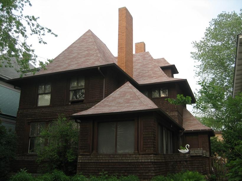 Oak Park Il Smith House hip roof