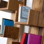 Reclaimed Redwood Stack Shelves by Deger Cengiz