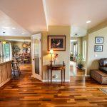 home with hardwood flooring