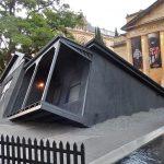 sinking house needing underpinning