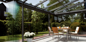 SLX Glass Canopies Glass House by Glass Extensions UK