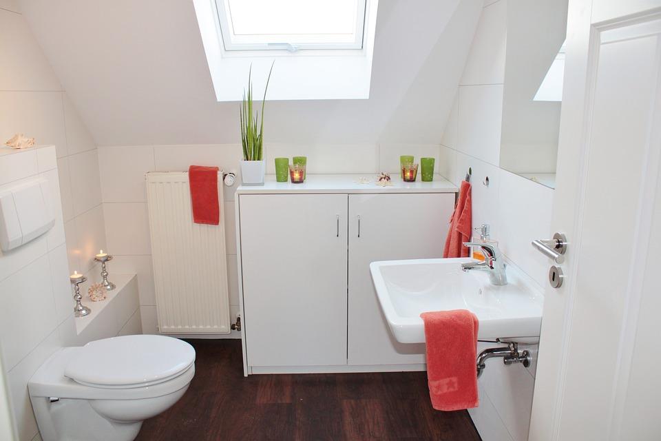 fixtures in bathroom