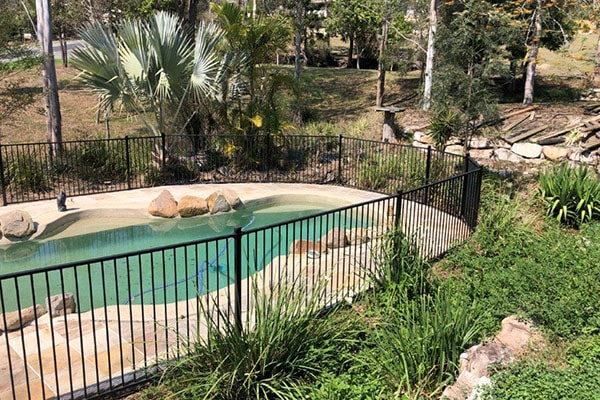 pool safety with fencing