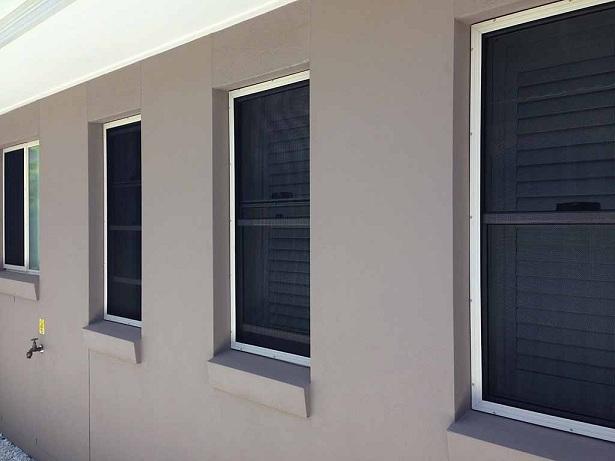 Crimsafe security screens for windows