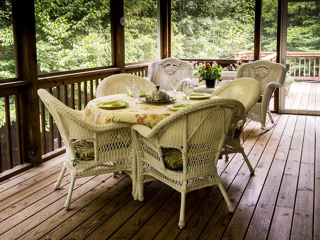 Keeping space for Deck furniture